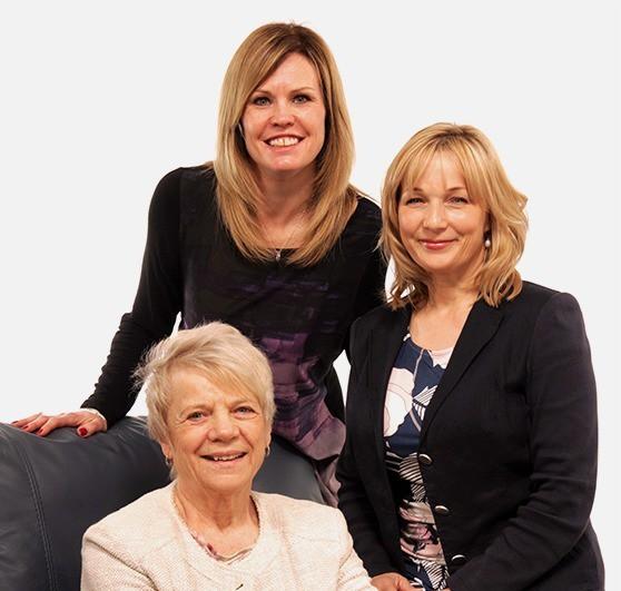 Jo, Helen and Denise